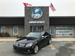 2009 Mercedes-Benz C-Class 4 MATIC! FINANCING AVAILABLE!