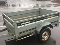 6ft x 4ft Daxara 197 Tipping Trailer (both ends drop)