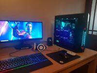 gaming pc 4 - Nvidia 1070 Strix (8gb ddr5) - i5 7600k 4.2Ghz - 16gb DDR4- worth £2000+ BARGAIN