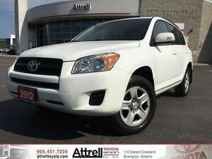 2012 Toyota RAV4 FWD. Keyless Entry, Bluetooth, Cruise Control.