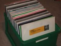 "130 x 12"" Trance / Electro / 90's Vinyl Records Collection."