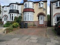 Three bedroomed,double glazed, centrally heated unfurnished house in quiet grove in Harborne.