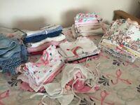 Girls clothes mix 0-3 & 3-6. 50 items next mamas papas