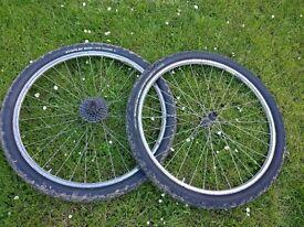 "26"" Mavic Mountain Bike Wheels"