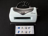 SIZZIX Texture Boutique - Embossing cardmaking machine
