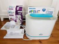 Philips Avent steriliser and breast pump