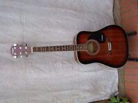 'Westfield' Acoustic guitar.