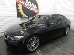 2013 BMW 335i Xdrive M package, Navigation, Bancs en cuir ROUGE