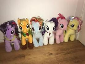My little pony build a bear collection x 6