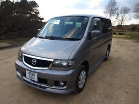 Mazda Bongo Aero City Runner for sale – low mileage and totally rust free! Must sell