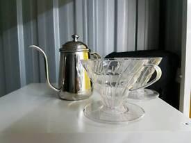 V60 coffee set