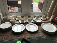 Contemporary Azura Poole Pottery Dinner Set - Rare