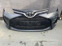 Toyota Yaris 2014 2015 2016 2017 front bumper