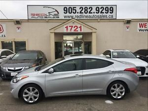 2012 Hyundai Elantra Limited, Leather, Sunroof, WE APPROVE ALL C