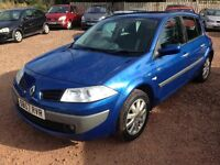 2007 RENAULT MEGANE 1.4 ONLY 96,000 MILES! 1 YEAR MOT!! IMMACULATE CONDITION!