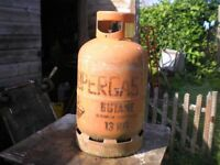 empty 13kg supergas bottle