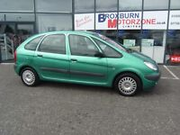 2002 02 CITROEN XSARA PICASSO 2.0 PICASSO SX HDI 5d 90 BHP MOT MAY 2017 **** GUARANTEED FINANCE ****