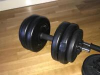 2 Lonsdale Free Weights 15KG