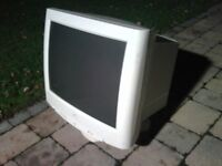Monitor 21 inch CRT with VGA and RGB inputs