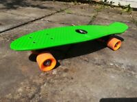 """Green """"Penny Skateboard""""- great for getting a beach fit body for the summer- hours of fun!!:-)"""
