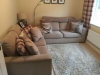 NEXT BIEGE DOUBLE SOFA BED IN GREAT CONDITION - COMES WITH 2 SEATER SOFA