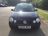 Volkswagen Polo 1.2 E 5dr £1,595 p/x welcome 2005 (05 reg), Hatchback