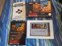 Desert Strike Return To The Gulf Nintendo SNES Complete PAL