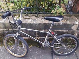 BMX Bike-Silver