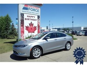 2015 Chrysler 200 C Front Wheel Drive - 32,887 KMs, Seats 5