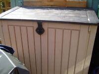 Garden storage container