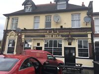 Pub (free house) for rent in a prominant location full furnished with front & read beer garden
