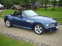 BMW Z3 1.9 convertible 2001 Roadster, Topaz Blue, 1 former owner, 36k miles