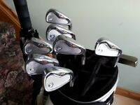 Taylormade tp forged irons, 4 to pw. ( price reduced