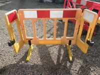 HI-VIS Barrier, Traffic Management, Pedestrian Safety Barriers, Chapter 8, Norwich, Norfolk