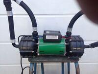 SALAMANDER SHOWER PUMP ESP 100 TWIN