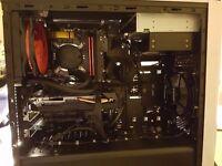 New Fast Gaming VR Ready Desktop - Intel Core i7 4790K S Water Cooled GTX 1060 PC 16GB RAM Gamer PC