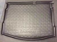 Nissan Qashqai plastic boot liner.