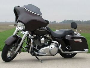 2007 harley-davidson FLHX Street Glide   Merlot Pearl and Stage  London Ontario image 6