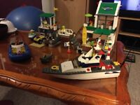 Lego Marina set 4644 and Boat set 4642