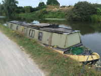REDUCED PRICE FOR QUICK SALE 45ft Narrowboat - PROJECT - SOLD AS SEEN - REALISTIC OFFERS WELCOME