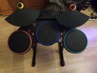 Ps3 Guitar Hero RedOctane Wireless Drum kit