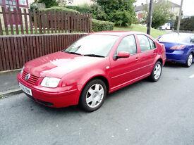 VW Bora Excellent condition 2.0 se 9 months MOT. Bargain.