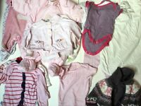 Baby Girl Clothes Bundle 0/6 Months £20 Ref.0114