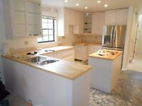 Kitchen Fitters and Bathroom Installers! Full Extensions Build!