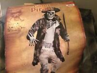 Ghost Pirate Men's Costime Brand New