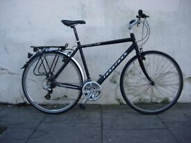 Mens Hybrid/Commuter Bike by Ridgeback, Black, Great Condition, JUST SERVICED / CHEAP PRICE!!!!!!!!!