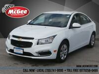 2015 Chevrolet Cruze LT Turbo - Rmt Start, Rear Cam, Bluetooth