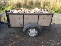 firewood hardwood logs free delivery