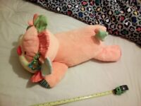 Large Mothercare lion baby toy
