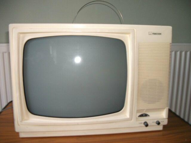 Ferguson 38030 Black White Portable Tv In Coventry West